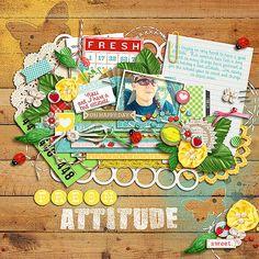 fresh attitude - Scrapbook.com