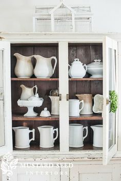 Farmhouse Friday #16 - Ironstone, Crocks & Pottery - Knick of Time