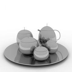 Jean Nouvelalessi 3D Model  Kitchen 3D Models  Kitchen Ware Stunning Alessi Kitchen 2018