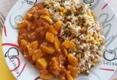 Cukkinipörkölt zöldséges hajdinás jázmin rizzsel recept képpel. Hozzávalók és az elkészítés részletes leírása. A cukkinipörkölt zöldséges hajdinás jázmin rizzsel elkészítési ideje: 50 perc