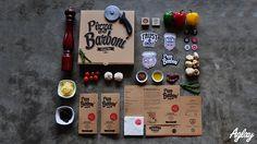 Pizza Barboni Brand Identity on Behance