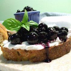 Catherines Pickled Blueberries - Allrecipes.com