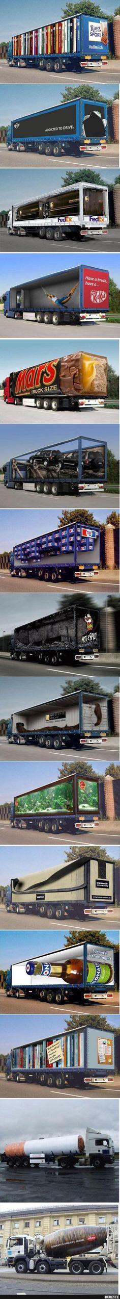 Tolle LKW-Werbung! | Lustige Bilder, Sprüche, Witze, echt lustig