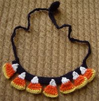 Halloween crochet jewelry! love it!