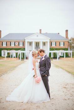 Charleston wedding at Boone Hall Plantation via Shannon Michele Photography