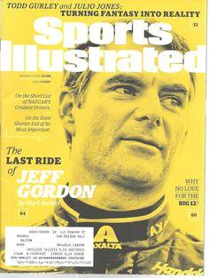 Jeff Gordon NASCAR Driver Sports Illustrated Magazine November 23 2015 #unknown