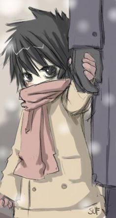 I can't. This is so cute. I've lost the ability to even. || Death Note: Little L by SUF78 on deviantART