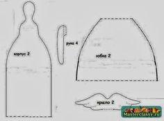 agulheiro anjo  2- moldes