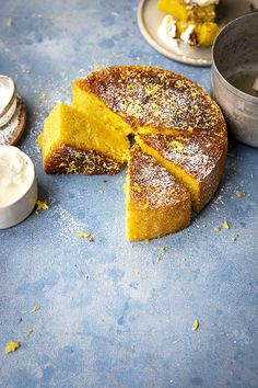 Limoncello Cake | Donal Skehan | EAT LIVE GO Cake Cookies, Cupcake Cakes, Cupcakes, Limoncello Cake, Baking Recipes, Cake Recipes, My Favorite Food, Favorite Recipes, Plain Cake