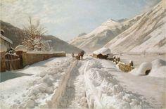 Peder Mørk Mønsted - how snowy can snowscapes get?