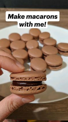 Fun Baking Recipes, Sweet Recipes, Snack Recipes, Cookie Recipes, Desserts To Make, Delicious Desserts, Yummy Food, Yummy Snacks, Macaroon Recipes