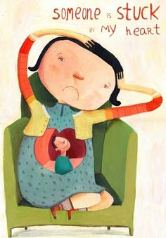 illustrations by Jenny Meilihove #art #illustration #love
