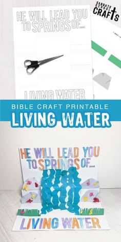 This easy Bible craft for kids, will teach your little ones that Jesus is the only thing that truly satisfies! Bible Activities For Kids, Bible Crafts For Kids, Color Activities, Kid Crafts, Sunday School Crafts For Kids, Sunday School Activities, Christian Preschool, Christian Crafts, Jesus Crafts