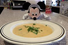 DIY Disney Food: Canadian Cheddar Cheese Soup Step by Step Recipe from Le Cellier in Epcot