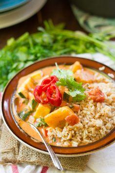 Vegetable + plantain moqueca | ohmyveggies.com