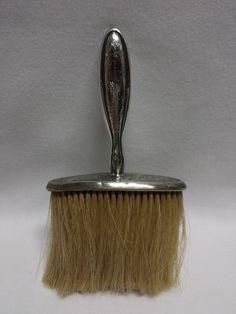 """La Pierre Sterling Makeup or Crumb Brush Monogram 7 1/4"""""""