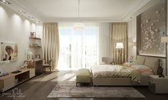 Luxurious Apartment in Kiev, Ukraine by Irena Poliakova | http://www.designrulz.com/spaces-for-living/2015/10/luxurious-apartment-in-kiev-ukraine-by-irena-poliakova/