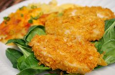 Crispy Baked Cornflake Chicken on MyRecipeMagic.com