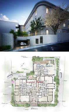 Proud Uehara Forest Modern Floor Plans, Penthouses, Condominium, Apartments, Buildings, Villa, Flooring, How To Plan, Mansions