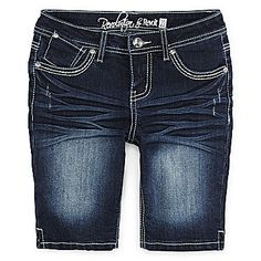 jcp | Revolution™ by Revolt Denim Shorts - Girls 7-16