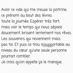 Image about quote in My citations ✍🏻 by Innoubliable Dark Quotes, Best Quotes, Love Quotes, Tu Me Manques, French Words, French Quotes, Love Phrases, Some Words, Affirmations