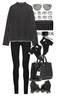 """""""Untitled #8658"""" by nikka-phillips ❤ liked on Polyvore featuring Chanel, Alexander McQueen, Forever 21, Yves Saint Laurent, Zara, Topshop, Christian Dior and Isabel Marant"""