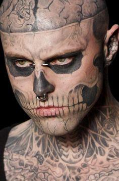 Rick Genest alias Zombie boy.