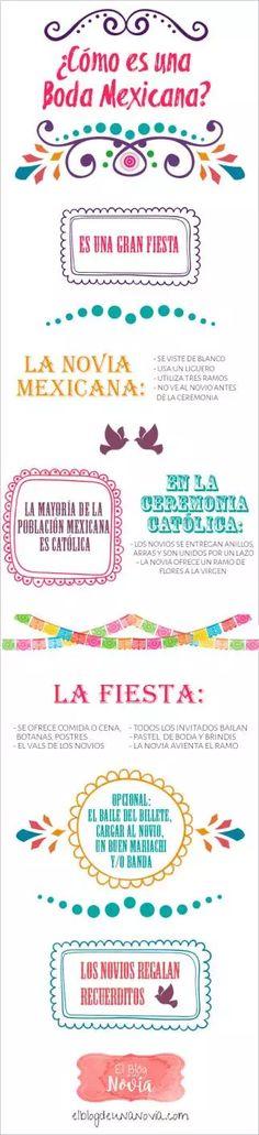 ¿Cómo es una boda mexicana?