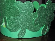 st. paddy's day crown for the boys