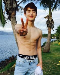 Hot Men, Hot Guys, Sexy Men, Kyungsoo, Exo Chanyeol, Exo Ot12, Surfer Boys, Celebrities, Fashion Styles