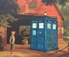 Dave Pollot has a unique passion turned business – he finds discarded thrift shop paintings and alters them with a geeky twist.Each masterpiece features different pop-culture references such as Star Wars, Doctor Who, Mario Bros, and many others.