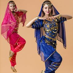 2016 New Set Belly Dance Costume Bollywood Costume Indian Dress Bellydance Dress  Womens Belly Dancing Costume Sets 7 Color 4ef3899f9c5b