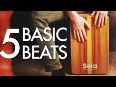 5 Basic Cajon Beats You Can Learn Today Drum Basics, Learn Salsa, Cajon Drum, What Is Play, Bucket Drumming, Drums Beats, Tambourine, Ukulele, Music