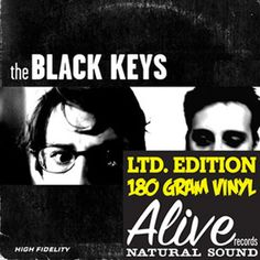 The Black Keys - The Big Come Up on 180g LP