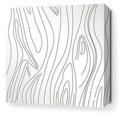 Stylized bark detailing makes the Madera Canvas Wall Art a piece of modern organic art. The polyester canvas boasts a hand-printed bark design offered. Abstract Wall Art, Canvas Wall Art, Office Artwork, Tree Wall Murals, Organic Art, Graphic Artwork, Bathroom Wall Art, Contemporary Wall Art, Pictures To Paint
