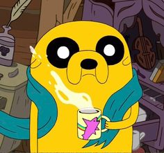 *blink* #JakeTheDog #AdventureTime