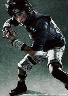 うちはサスケ役の佐藤流司 | Ryuji Sato as Sasuke Uchiha  ©ライブ・スペクタクル「NARUTO-ナルト-」