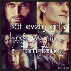 Isn't this the truth. There is a small picture of Thorin in the middle
