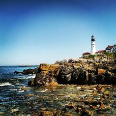 New print available on fineartamerica.com! - 'Cape Elizabeth' by Becky Gargan -