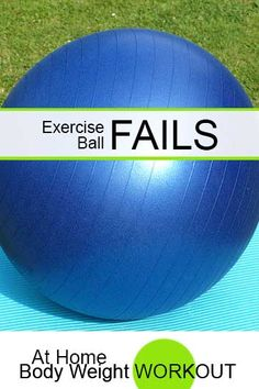 Exercise Ball Fails - At Home Body Weight Workout Improve Mental Health, Good Mental Health, Home Body Weight Workout, Health And Wellness, Health Tips, Excercise, Exercise Ball, Yoga Benefits, Weight Loss For Women