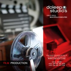 Doleep Studios is a creative content creation and production company with a strong focus on Film-Making excellence, TV commercials, promos and branded content. #business #entrepreneur #fortune #leadership #CEO #achievement #greatideas #quote #vision #foresight #success #quality #motivation #inspiration #inspirationalquotes #domore #dubai #abudhabi #uae  www.doleep.com/