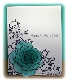 Hand Stamped By Heather, Heather Wright-Porto, Stampin' Up! Demonstrator: Mother's Day Cards using Fifth Avenue Floral and Elements of Style