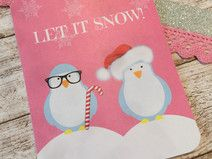 "PL 3x4"" Journal Card Winter1 Available in my Shop: http://de.dawanda.com/product/90389871-pl-3x4-journal-card-winter1"