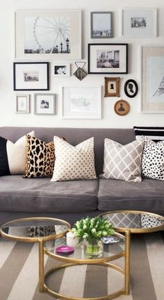 We spend most of our time at home in the living room. But not all of us organize living-room stuff well. Here are some ideas for your apartment living room. Home Decor Inspiration, Home Living Room, Living Room Decor, Home Decor, Room Inspiration, House Interior, Apartment Decor, Room Decor, Home And Living
