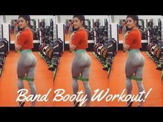 Glutes Gone Wild: Resistance Band Leg & Booty Workout #buttlift #gluteworkout #brazillianbutt - YouTube
