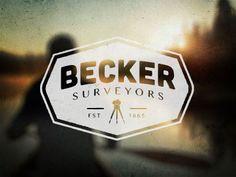 Becker Surveyors Logo by Mike Jones
