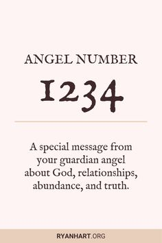 In this post you'll discover the meaning of angel number 1234 and why you keep seeing these numerology messages throughout your day. 123 Angel Number, Angel Number Meanings, Angel Numbers, Spiritual Meaning Of Numbers, Law Of Attraction Love, Angel Guide, Numerology Numbers, Manifestation Law Of Attraction, Spirituality