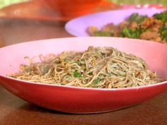 That's Shallota Flavor Spaghetti recipe from 30 Minute Meals via Food Network