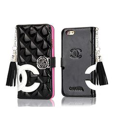 Buy Wholesale Classic Fringed Chanel Rose Folder Leather Book Flip Holster Cover For iPhone 11 Pro Max - Black Rose from Chinese Wholesaler Iphone Pro, Coque Iphone 6, Iphone 7 Plus, Iphone Cases, Leather Books, Leather Case, Leather Wallet, Patent Leather, Chanel Iphone 6 Case