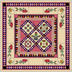 Primrose Promise Quilt Pattern by Curlicue by CurlicueCreations, $15.00